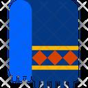 Shawl Muffler Winter Icon