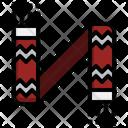 Scarf Warm Winter Icon