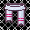 Scarf Cold Clothes Icon