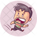 Scaring Man Icon