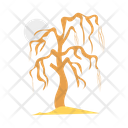 Scary Tree Spooky Icon