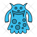 Monster Character Scary Icon