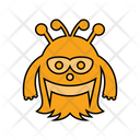 Monster Halloween Scary Icon
