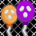 Scary Balloon Balloon Balloons Icon