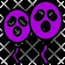 Scary Balloon Icon