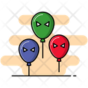 Scary Balloons Icon