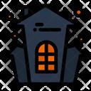 Scary Castle Halloween Castle Haunted Castle Icon