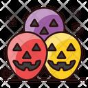 Scary Eggshells Halloween Eggs Eggs Painting Icon
