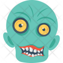 Scary Face Icon