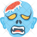 Scary Face Halloween Icon