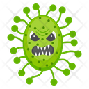 Microorganism Scary Germ Scary Bacteria Icon