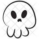 Scary Ghost Icon