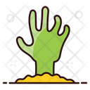 Scary Hand Ghost Hand Evil Hand Icon