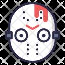 Hockey Mask Bloody Icon