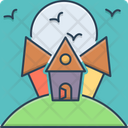 Scary House Icon