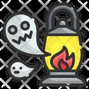Scary Lantern Icon