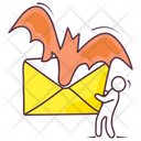 Scary Mail Icon
