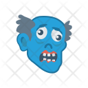 Scary Ghost Clown Icon
