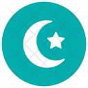 Night Moon Star Icon