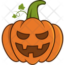 Scary Pumpkin Icon