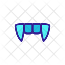 Scary Teeth Icon