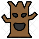 Tree Leafless Halloween Scary Spooky Icon