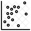 Scatter Plot Data Icon