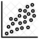 Scatter Plot Dot Icon