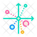 Scatter Chart Color Icon