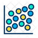 Data Dot Plot Icon