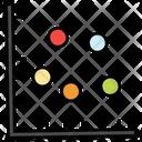 Analytics Statistics Scatter Chart Icon