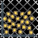 Data Analytics Scatter Chart Bubble Chart Icon