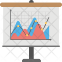 Scatter Graph Charting Icon