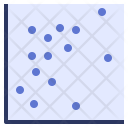 Scatter grph Icon