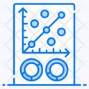 Scattercplot Dot Plot Business Data Icon