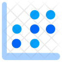 Scatter Pot Scatter Graph Graph Icon
