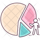 Scattered Pie Icon