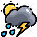 Scattered Thunderstorms Icon