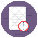 Task Time Project Time Time Agenda Icon