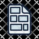 Scenario Screenplay Script Icon