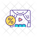 Scene And Curtains Icon