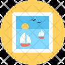 Scenery Sea Ocean Icon
