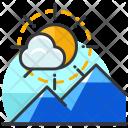 Scenery Mountain Icon