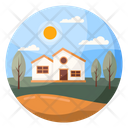 Scenery Countryside Landscape Icon