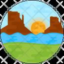 Landscape Nature Scenic View Icon