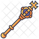 Medieval Scepter King Icon