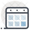 Schedule Calendar Building Icon