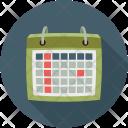 Schedule Agenda Almanac Icon