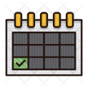 Schedule Delivery Logistics Icon