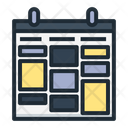 Schedule Table Calendar Icon